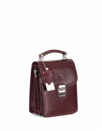 Genuine Leather Portfolio Bag - 301 - 61