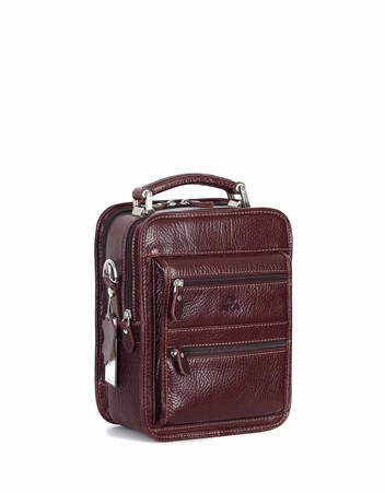 Genuine Leather Portfolio Bag - 307 - 61