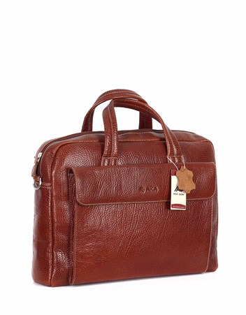 Genuine Leather Laptop Bag - 242 - 63