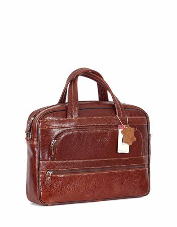 Genuine Leather Laptop Bag - 251 - 63