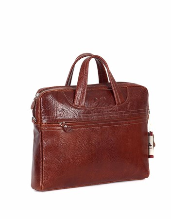 Genuine Leather Laptop Bag - 298 - 63