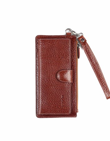 Genuine Leather Womens Wallet-451 - 63