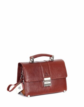 Genuine Leather Portfolio Bag - 148 - 63