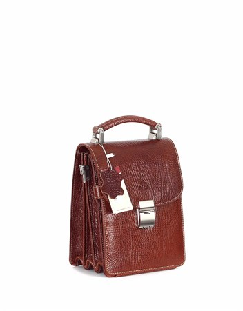 Genuine Leather Portfolio Bag - 301 - 63
