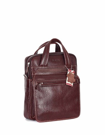 Genuine Leather Portfolio Bag - 374 - 63