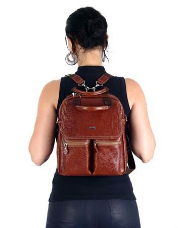 Genuine Leather Packback Bag - 902 - 63