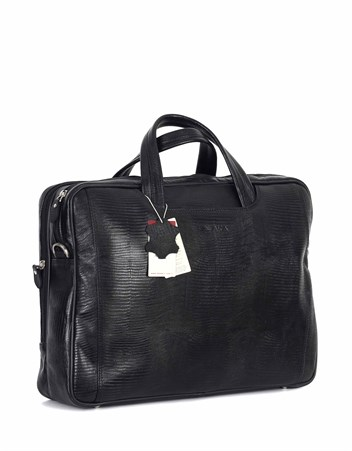 Genuine Leather Laptop Bag - 245 - 10