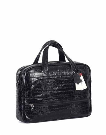 Genuine Leather Laptop Bag - 251 - 12